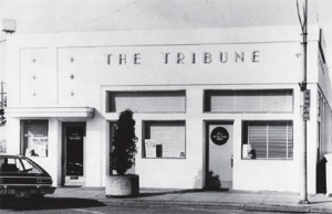 Original Lynden Tribune building located at 610 Front Street.